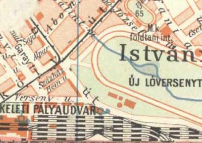Keleti, um 1920