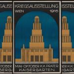 Plakat: Ankündigung der Kriegsausstellung im Prater (1916) Quelle: Wienbibliothek im Rathaus