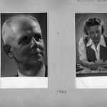 Géza Gábor und seine Frau im Jahr 1943