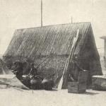 Serbische Fischerhütte