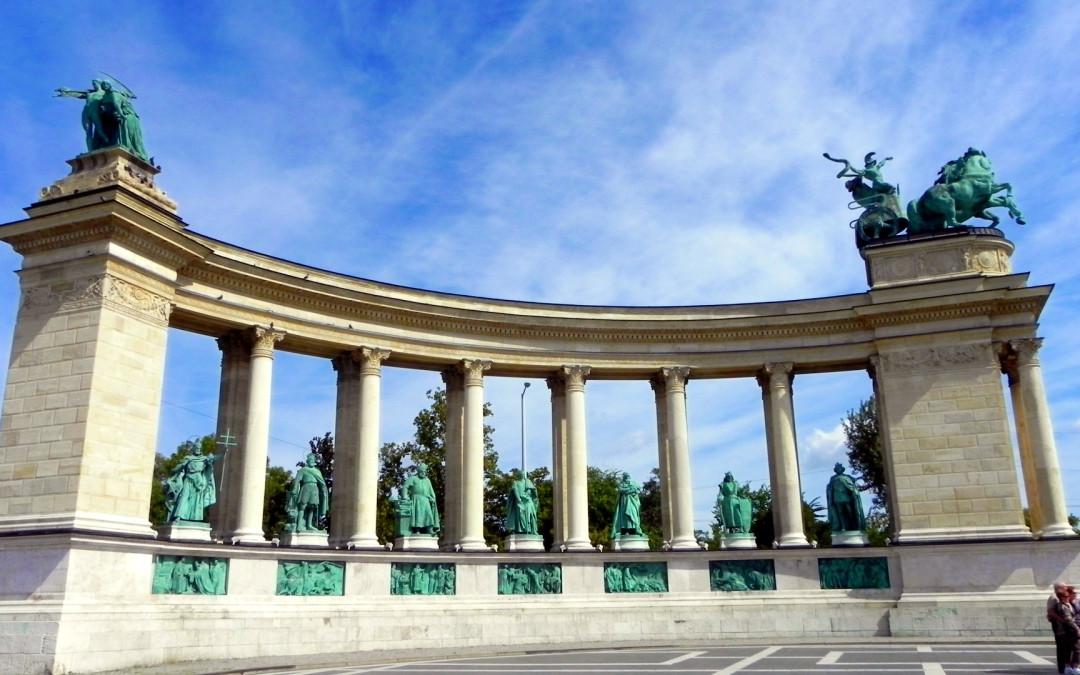 Hősök tere – der Budapester Heldenplatz